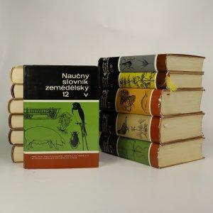náhled knihy - Naučný slovník zemědělský. 1 - 12. díl. (12 svazků, nekompletní)