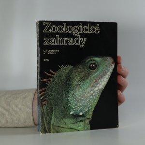 náhled knihy - Zoologické zahrady