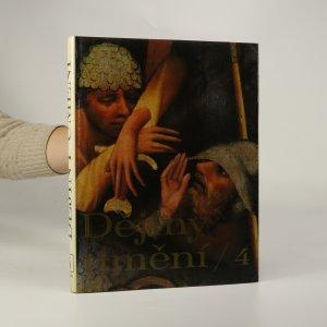 náhled knihy - Dějiny umění 4