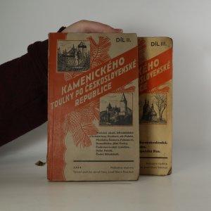 náhled knihy - Kamenického toulky po Československé republice II. a III. díl (2 svazky)