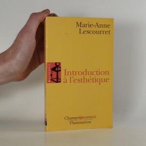 náhled knihy - Introduction à l'esthétique