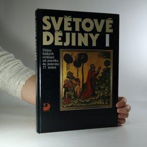 náhled knihy - Světové dějiny. Díl 1.