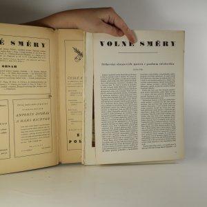 antikvární kniha Volné směry. Ročník XXXVIII. Číslo 1,2 (dvě čísla v jednom sešitě), 1942