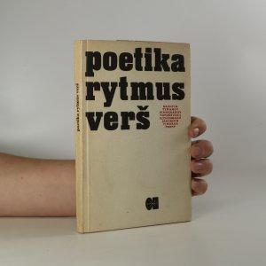 náhled knihy - Poetika, rytmus, verš