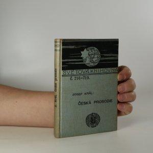 náhled knihy - Česká prosodie
