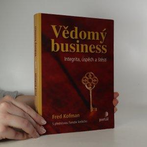 náhled knihy - Vědomý business. Integrita, úspěch a štěstí