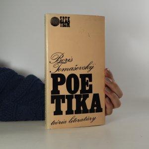 náhled knihy - Poetika. Teória literatúry