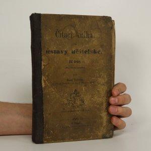 náhled knihy - Čítací kniha pro ústavy učitelské. Díl druhý