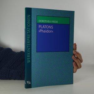 náhled knihy - platons phaidon