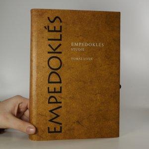 náhled knihy - Empedoklés. I., Studie