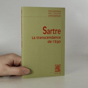 náhled knihy - La transcendance de l'ego