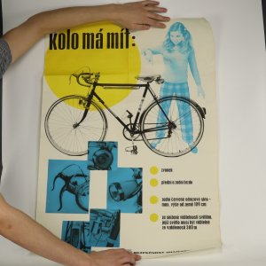 náhled knihy - Plakát Kolo má mít. (drobné poškození, viz stav)