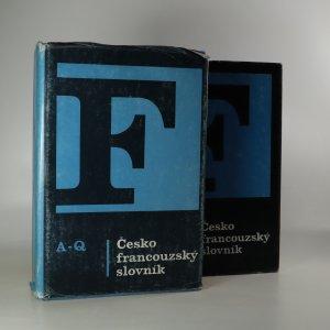 náhled knihy - Česko-francouzský slovník (2 svazky, komplet)