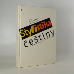 náhled knihy - Stylistika češtiny