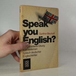 náhled knihy - Speak you English?