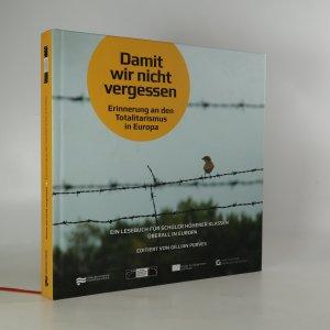 náhled knihy - Damit wir nicht vergessen (+CD)