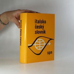 náhled knihy - Italsko-český slovník