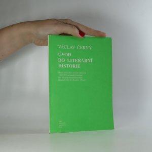 náhled knihy - Úvod do literární historie. Texty seminářů v zimním semestru 1969/197