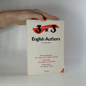 náhled knihy - 3x3 English Authors. Verze česko-anglická