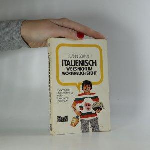náhled knihy - Italienisch wie es nicht im Wörterbuch steht