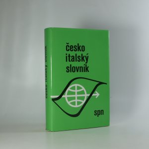 náhled knihy - Česko-italský slovník