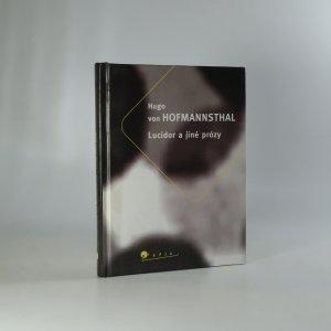 náhled knihy - Lucidor a jiné prózy