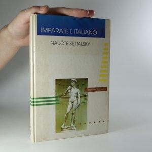 náhled knihy - Imparate l'italiano. Naučte se italsky (horší stav viz níže)