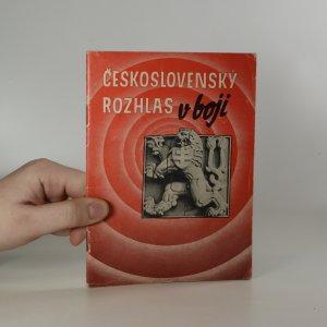 náhled knihy - Československý rozhlas v boji (asi podpis hlasatele Malíka)