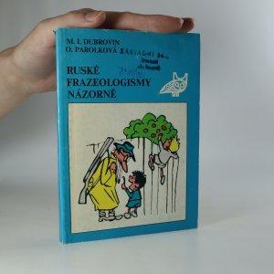 náhled knihy - Ruské frazeologismy názorně
