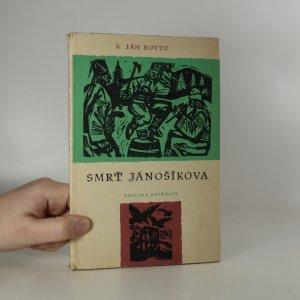 náhled knihy - Smrť Jánošíkova