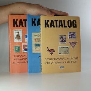 náhled knihy - Katalog. Československo, Česká republika, Československá letecká pošta (3 svazky)
