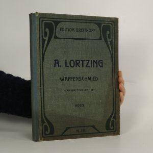 náhled knihy - Der Waffenschmied. Komische Oper in 3 Akten