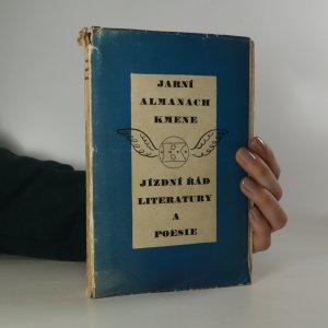 náhled knihy - Jarní Almanach Kmene. Jízdní řád literatury a poesie