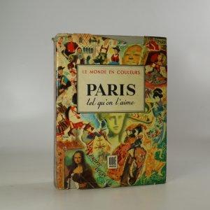 náhled knihy - Paris  tel qui'on l'aime