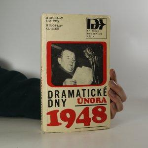 náhled knihy - Dramatické dny Února 1948