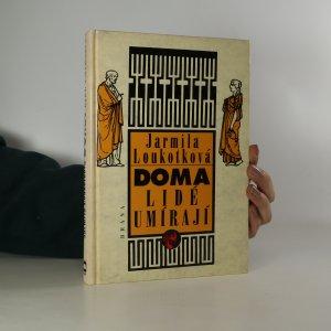 náhled knihy - Doma lidé umírají