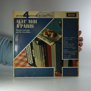 náhled knihy - Maurice Larcange and his Accordions: Avec moi a Paris