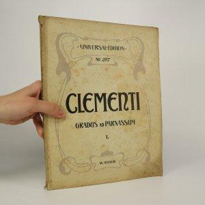 náhled knihy - Clementi Gradus ad Parnassum I. (je cítit zatuchlinou)