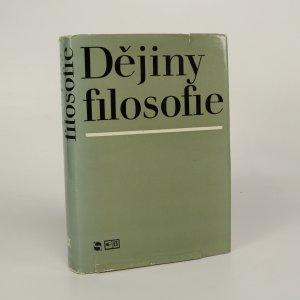 náhled knihy - Dějiny filosofie