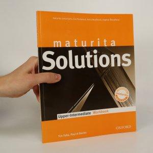 náhled knihy - Maturita Solutions.Upper-Intermediate. (Workbook)