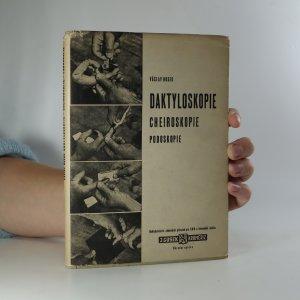 náhled knihy - Daktyloskopie. Cheiroskopie. Podoskopie
