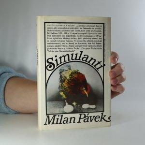 náhled knihy - Simulanti