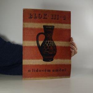náhled knihy - Blok. Časopis pro umění (ročník III., číslo 1)