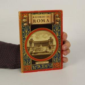 náhled knihy - Ricordo di Roma. Soubor 32 historických pohlednic z Říma