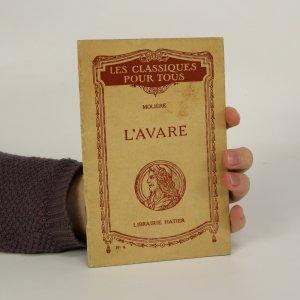 náhled knihy - L'Avare