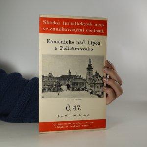 náhled knihy - Sbírka turistických map se značkovanými cestami. Kamenicko nad Lipou a Pelhřimovsko