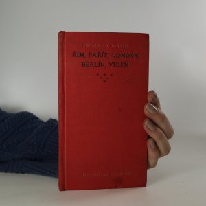 náhled knihy - Řím, Paříž, Londýn, Berlín, Vídeň. Dějiny a popis měst