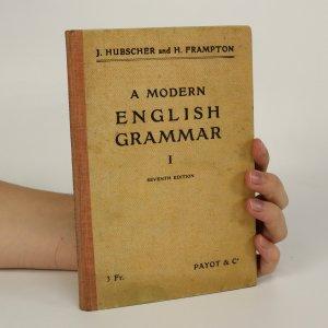 náhled knihy - A Modern English Grammar (je cítit zatuchlinou)