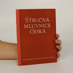 náhled knihy - Stručná mluvnice česká (je lehce cítit zatuchlinou)