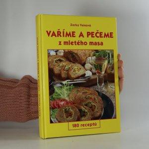 náhled knihy - Vaříme a pečeme z mletého masa